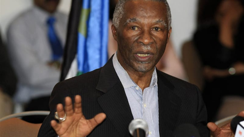 Thabo Mbeki, the former president of South Africa, mediated between the two countries [Reuters]