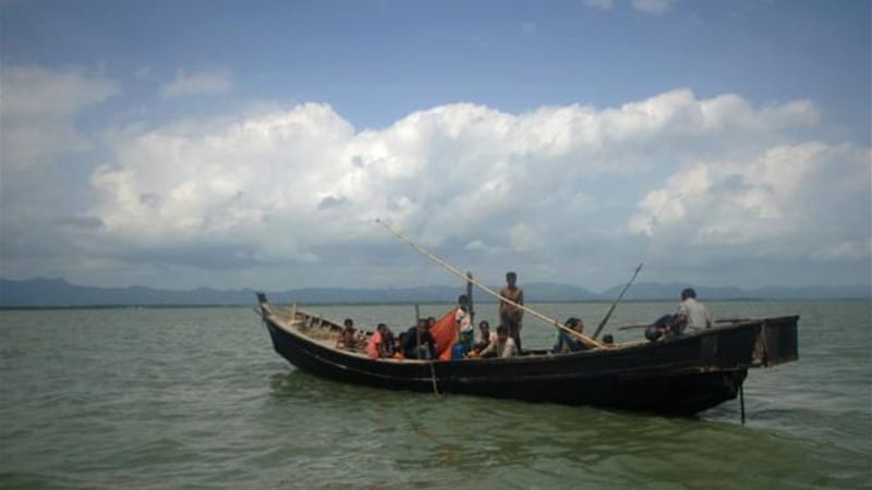 An annual and often deadly exodus from Rakhine state usually begins in November [File: AP]