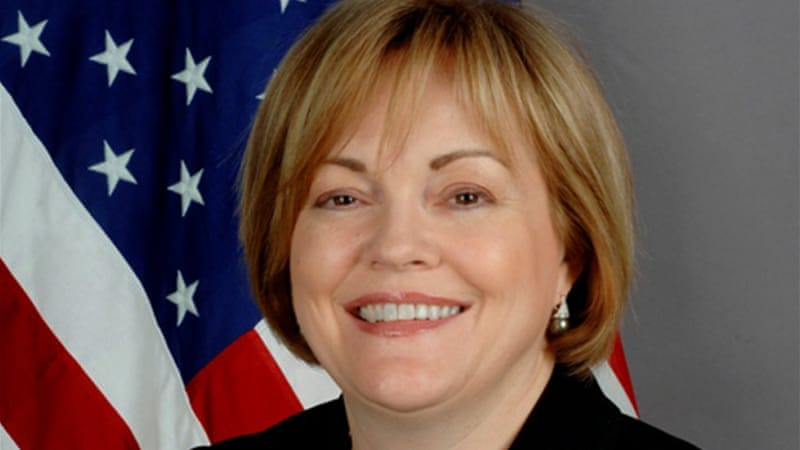 Deborah Jones' position as US envoy to Libya still has to be confirmed by senate [AP]