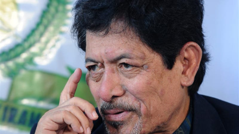 Misuari, who founded MNLF in the early 1970s, is believed to be hiding in southern Philippines [AFP]