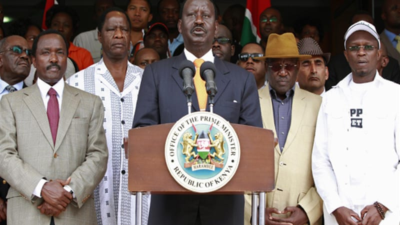 Odinga, the outgoing prime minister and losing presidential candidate, has alleged voter fraud [Reuters]
