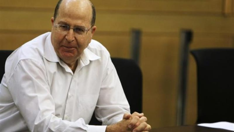 Yaalon has publicly backed Netanyahu's reluctance to give back the occupied West Bank to the Palestinians [Reuters]
