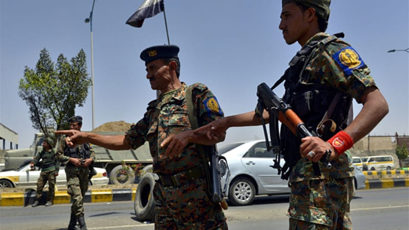 More than 60,000 police and army troopers have been deployed in Sanaa ahead of national dialogue [EPA]