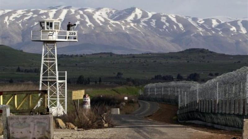 The once quiet frontier between Syria and Israel has turned volatile in recent weeks [Reuters]
