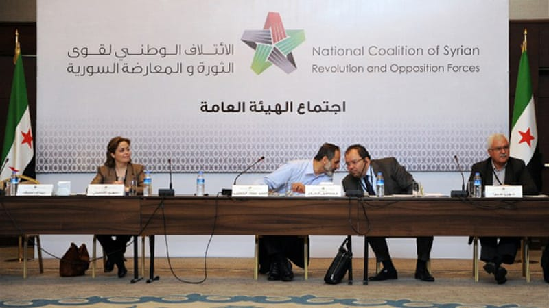 The Syrian National Coalition cautioned that there is no guarantee the election will take place as scheduled [AFP]