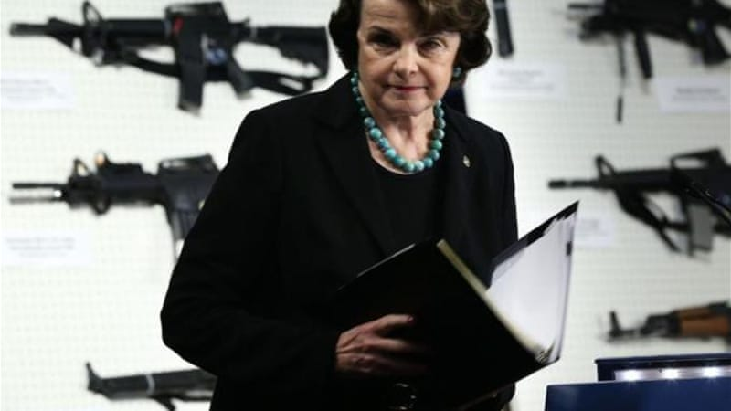 Senator Dianne Feinstein introduced the bill to ban assault weapons and high-capacity magazines [Getty Images]