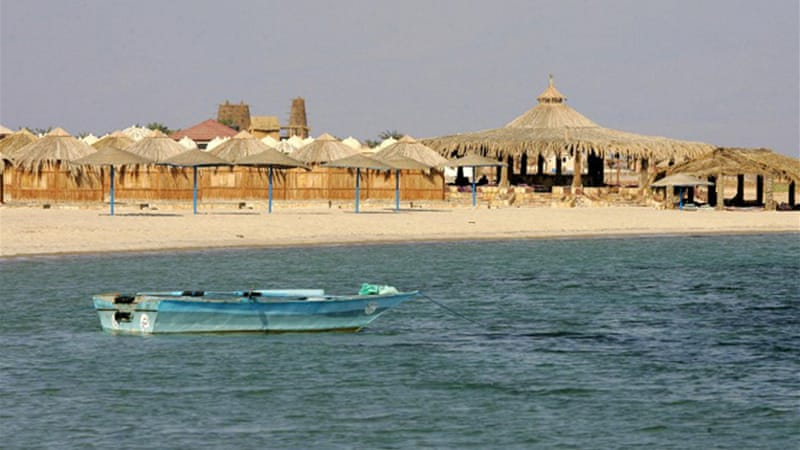 The hostages were travelling between two beach resorts in Sinai on Friday, when they were abducted [AFP]