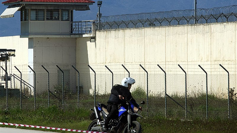 Greek police have reportedly arrested three of the prisoners that escaped [EPA]
