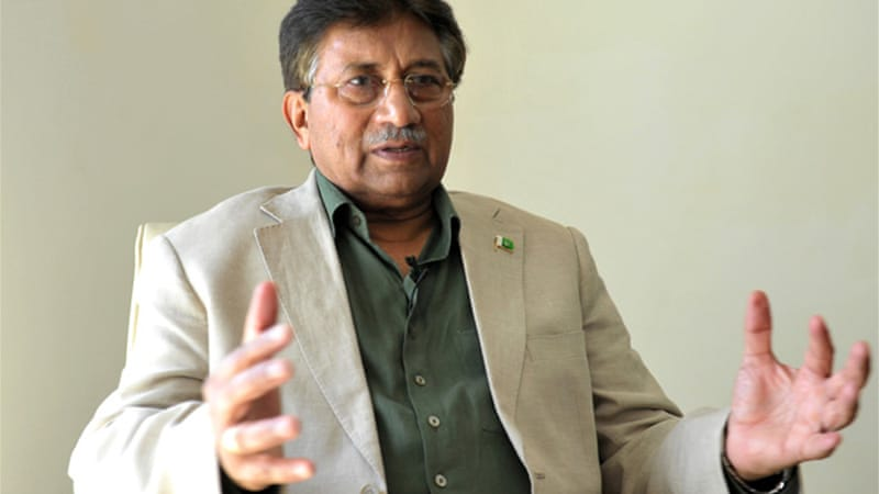 Pervez Musharraf seized power in a bloodless coup in 1999, and later stepped down in August 2008 [Reuters]