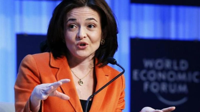 "Hillary Clinton, Sheryl Sandberg and other females in power are in part ""new cover for old systems"" [Reuters]"