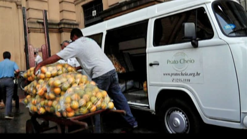 The report criticised Asia, saying that over 100 kilos  in vegetables per capita are wasted every year  [Al Jazeera]
