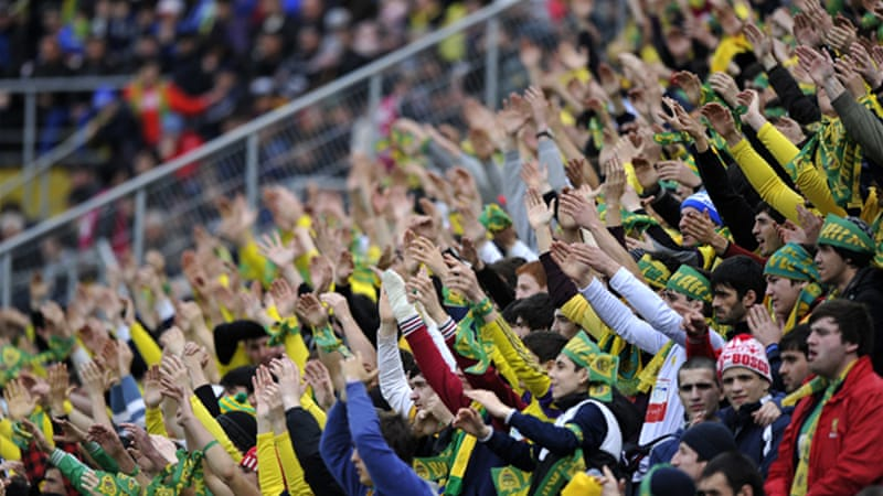FC Anzhi Makhachkala's Premier League win over Amkar Perm in November 2012 is alleged to be one of the domestic league games affected by match rigging [Getty Images]