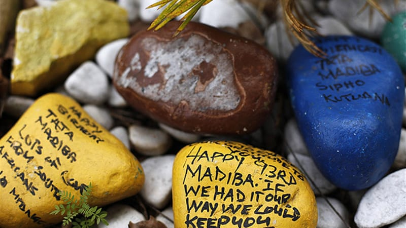 In churches across South Africa, Christians included Mandela in their prayers on Good Friday [Reuters]