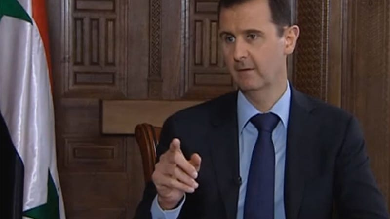 Bashar al-Assad says the UK and other nations supporting rebel groups are providing 'lethal aid' [The Sunday Times]