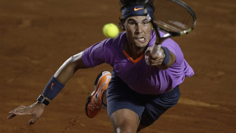 The former number one kept his perfect record intact by beating the reigning three-time champion Ferrer 6-0, 6-2 to win his 38th clay court title [Reuters]