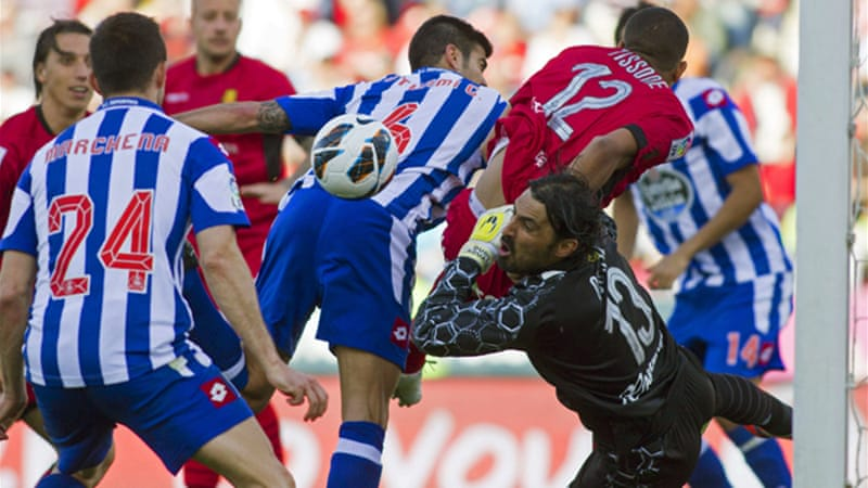 Last-place Deportivo La Coruna secured their first away win of the season with a 3-2 victory over Mallorca, boosting their hopes of escaping the relegation zone [EPA]