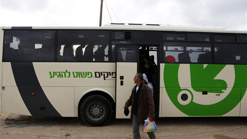 The Israeli transport ministry has said the new lines are to help Palestinian workers entering Israel [Reuters]