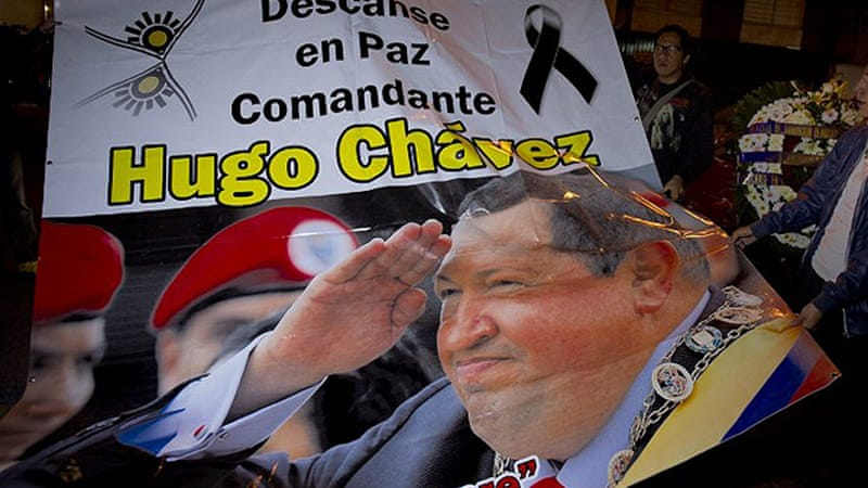 Hugo Chavez was the first of the democratically-elected left presidents in the past 15 years [AFP]