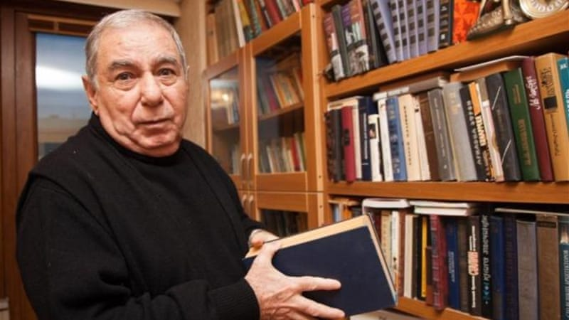 The president of Azerbaijan stripped author Akram Aylisli of his pension and his title of 'People's Author' after the publication of 'Stone Dreams', a novel covering the Nagorno-Karabakh conflict [AP]