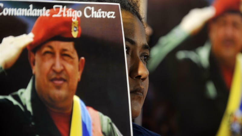 Chavez's authoritarianism and human rights violations against journalists and dissenters made it impossible for good and moral onlookers to support him [AP]