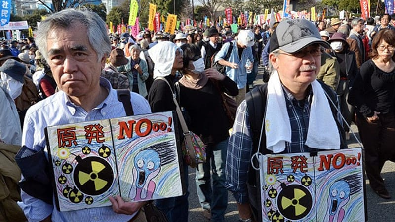 Japan turned off its 50 reactors for safety checks in the wake of the Fukushima disaster [AFP]