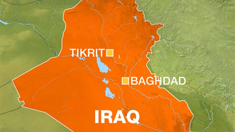 suicide bomb blasts hit wedding near iraqs tikrit