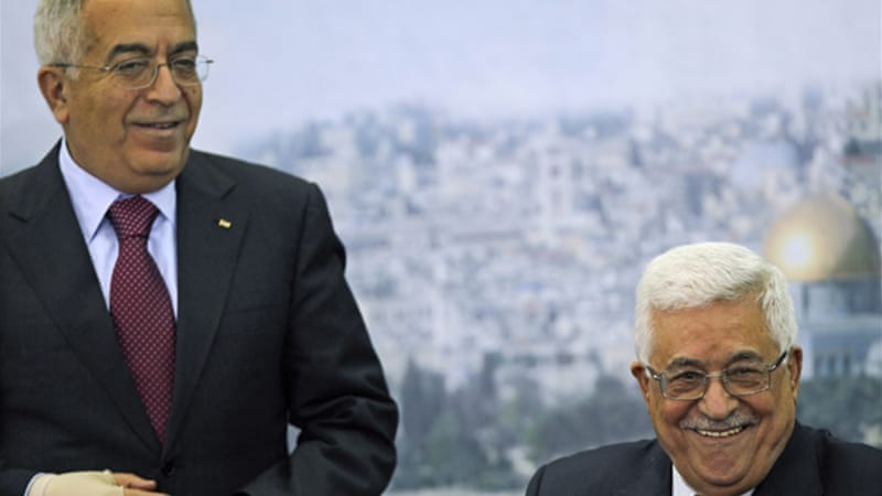 Abbas and Fayyad were due to meet on Thursday, but their talks were unexpectedly cancelled [EPA]
