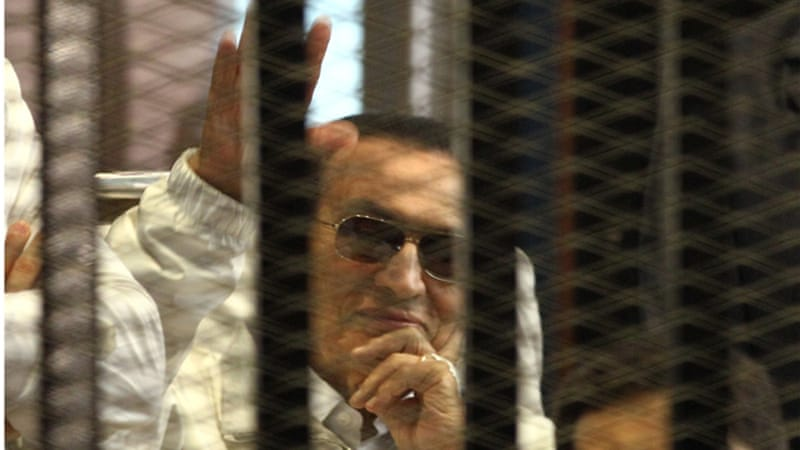 Mubarak, who ruled Egypt for three decades, was toppled in a popular uprising in 2011 [EPA]