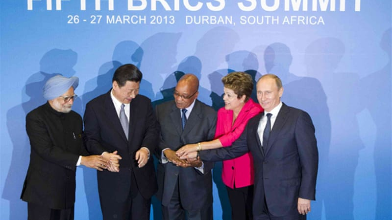 BRICS-Africa trade is seen eclipsing $500bn by 2015 [File photo:Reuters]