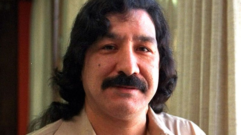 Native American activist Leonard Peltier has been in prison for 37 years this month, for a crime his supporters say he did not commit. [AP]