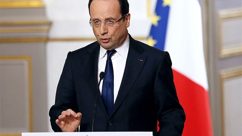 President Hollande vowed to tackle race issues during the 2012 election campaign [Reuters]