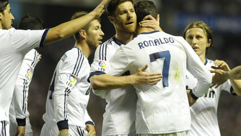All to play for: Real face a potential mouth-watering final against Barcelona – if they can beat Bayern Munich [AFP]