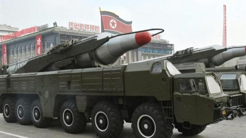 North Korea had deployed two Musudan missiles to the east coast in the run up to national April 15 celebrations [EPA]