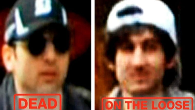 The elder Tsarnaev, Tamerlan, left, is believed to have spent six months in Russia's Dagestan last year