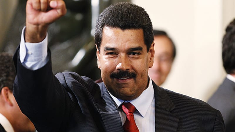 Nicolas Maduro, Venezuela's president, signed the control bill into law [Reuters]