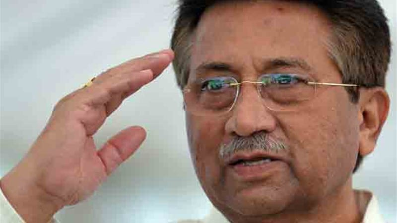 "Musharraf returned from exile last month to ""save"" Pakistan, but was barred from running in elections [Reuters]"