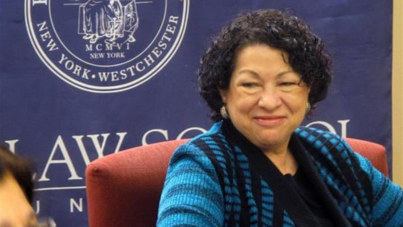 Sonia Sotomayor is the first-ever Latina Supreme Court Justice in the US [AP]
