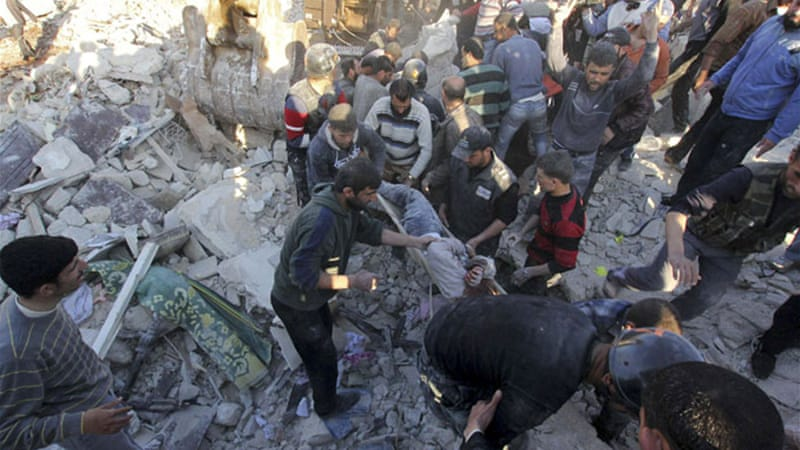 The Syrian Observatory for Human Rights said at least 2,080 civilians were killed in March [Reuters]