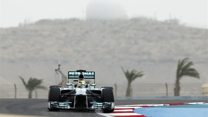 Rosberg timed 1:32.330 to finish 0.254 in front of Vettel - the three-time defending Formula One champion - and 0.337 ahead of Alonso, who won last week's Chinese Grand Prix [Reuters]
