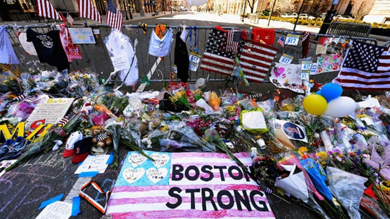 """It is significant that the bombing in Boston is seen as a national tragedy while the explosion in West, Texas, was barely mentioned in the mainstream news,"" writes Eisenstein [AFP]"