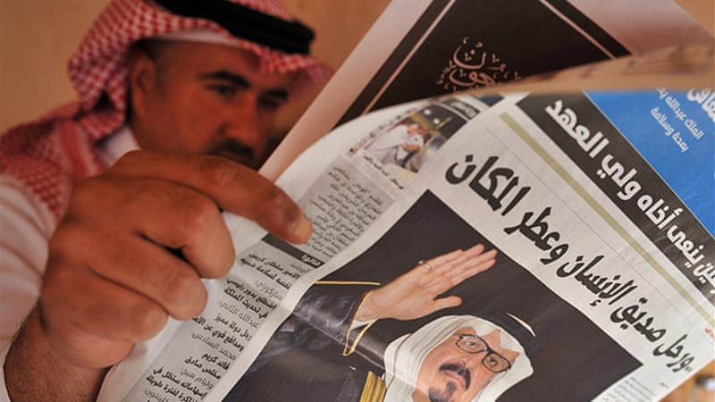 About 75 percent of Saudis say their news media is credible, compared with just a quarter in Egypt [AFP/Getty Images]