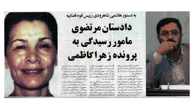 Reformist media noted that Tehran prosecutor, Saeed Mortazavi, was to investigate the killing Ziba Kazemi, even though Mortazavi himself was accused by several political circles to have ordered her beating [EPA]