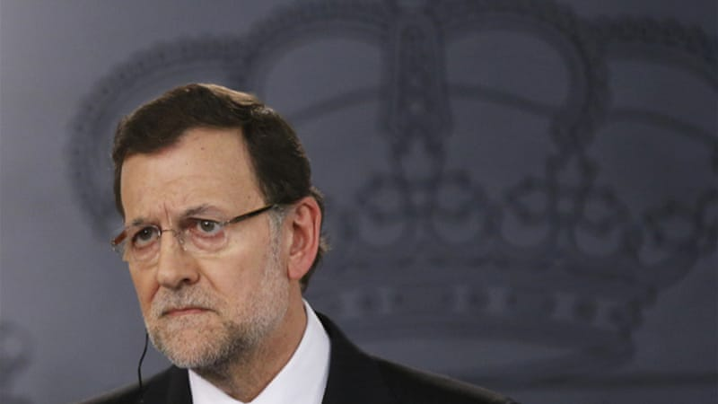 Prime Minister Mariano Rajoy says by 2014 there will be growth in the market and more jobs available [Reuters]