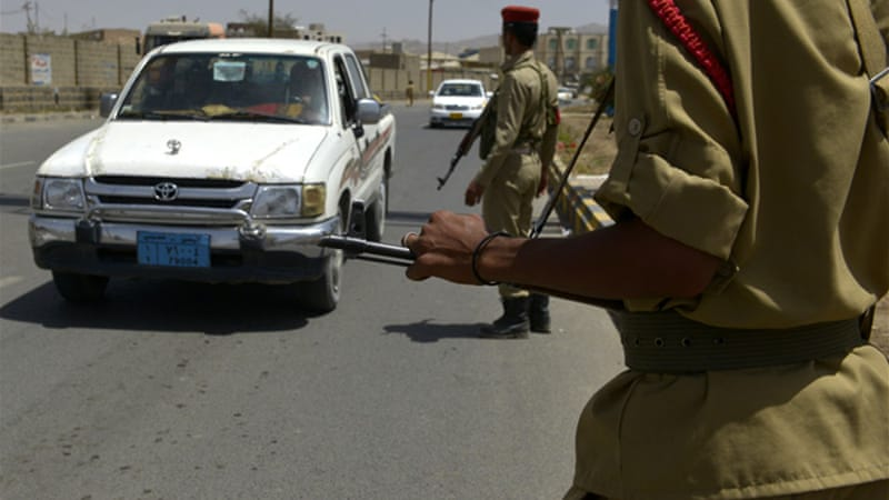 The use of security checkpoints has significantly increased in Yemen over the last two years due to instability [EPA]