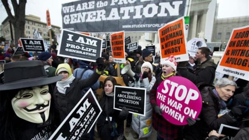 The notion of funding abortion services, whether domestically or globally, is an inordinately sticky issue in the US [AP]