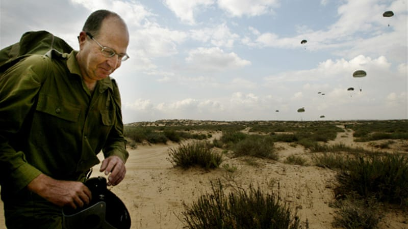 Yaalon's warning came after Israel retaliated to attacks from Syria and Gaza [File-AP]