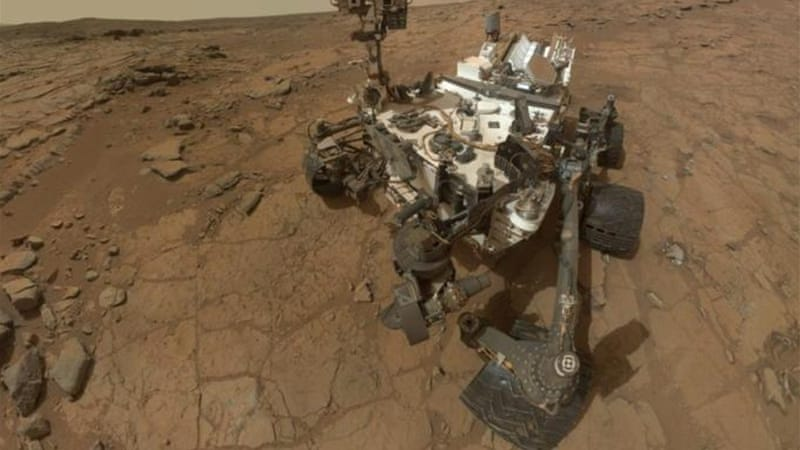 The Curiosity Rover's startling wander on Mars has energised burgeoning space tourism endeavours [AP]