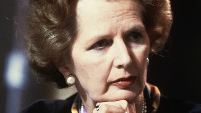 Margaret Thatcher was Britain's first female prime minister and both friends and foes called her 'Iron Lady' [AP]