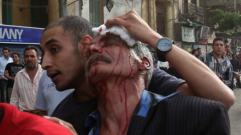The violence is the worst sectarian unrest since the fall of President Hosni Mubarak in 2011  [AFP]