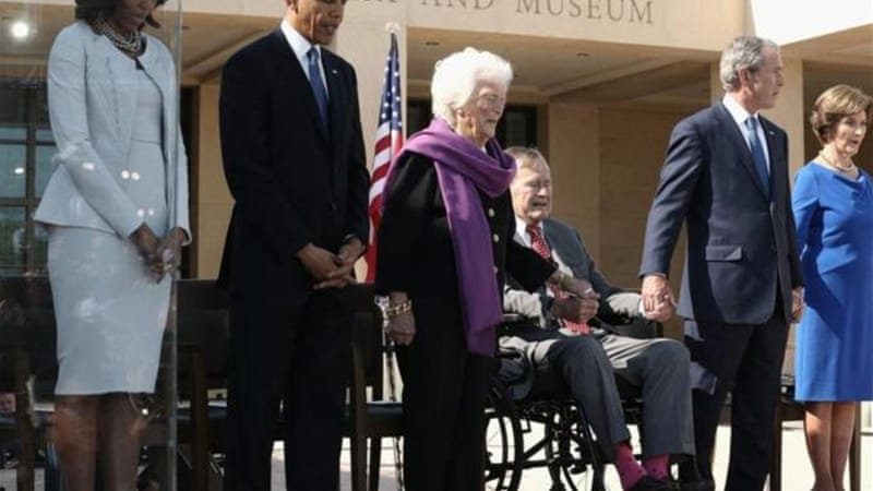 This week saw the opening the George W. Bush Presidential Library, housed at Southern Methodist University - the Alma Mater of Laura Bush [Getty Images]